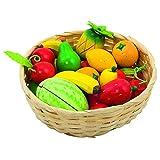 Goki 51661 - Kaufläden und Zubehör - Obst im Korb