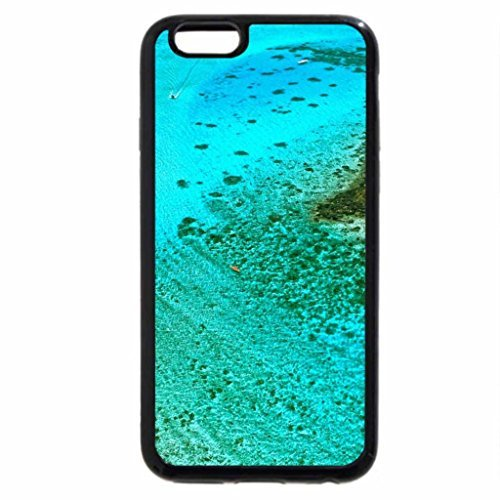 ad0f64052f iPhone 6S Plus Case, iPhone 6 Plus Case, Clear Blue Perfect Aqua Lagoon Bora