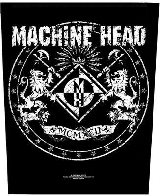 Aufnäher Machine Head - Crest (Head Unisex-bands)