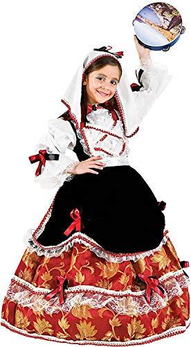 Costume di carnevale da tarantella vestito per recite natalizie travestimento veneziano halloween cosplay festa party 50497 taglia 12/xxxl