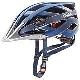 uvex Unisex- Erwachsene i-vo cc Fahrradhelm, darkblue metallic, 56-60 cm