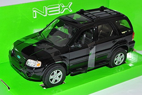 ford-escape-maverick-xlt-sport-offroad-schwarz-2000-2007-1-24-welly-modell-auto