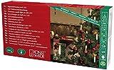Konstsmide 2010-020 LED Baumkette mit Topbirnen/für Innen (IP20) / VDE geprüft / 230V Innen/teilbarer Stecker / 16 warm weiߟe Dioden/grünes Kabel
