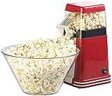 Rosenstein & Söhne Popcorn Maker: XL-Heißluft-Popcorn-Maschine für bis zu 100 g Mais, 1.200 Watt (Popcorn-Automat)