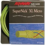 ASHAWAY Saite SuperNick XL Micro Rolle neon-gelb