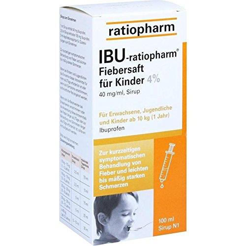 IBU-ratiopharm 4{b3157e1055f83e381a8bbbdc0f29b9f3054cdc3f00095a72062761d2c42591bb} Fiebers 100 ml