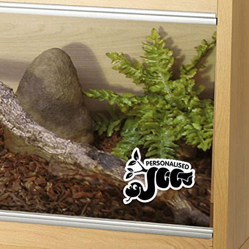Epic Modz Customised Snake Tank Vinyl Decal Sticker Reptile Vivarium Car Window...