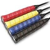 Vigo Sports rutschfeste Premium Griffbänder ? Anti Rutsch Overgrip Bänder für Tennis, Badminton & Squash Schläger ? Mega Grip Griffband für Dein Racket! -