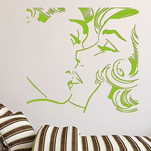 Kunst Aufkleber Wasserdichte Wandaufkleber Für Wohnzimmer Kinderzimmer Aufkleber Wohnkultur blau 58 cm X 54 cm