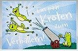 Klappkarte für Geldgeschenke 2239-023 Ein paar Kröten zum Verbal