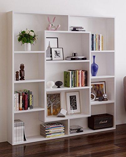 Venus libreria scaffale per libri scaffale per ufficio for Libreria salotto