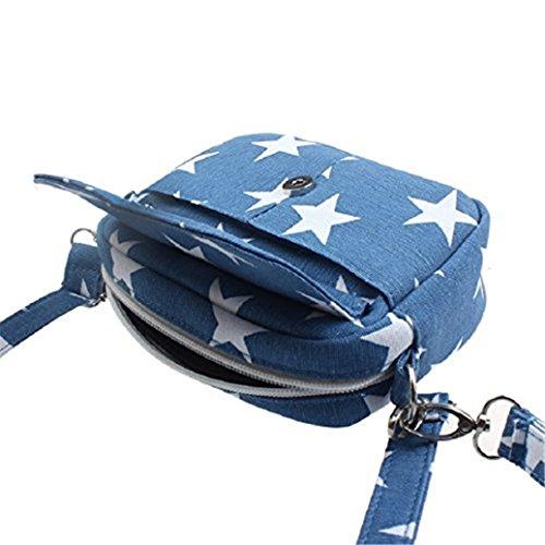 Bodhi2000, Borsa a spalla donna small, Light Blue (azzurro) - X175549KGWRF5421 Light Blue