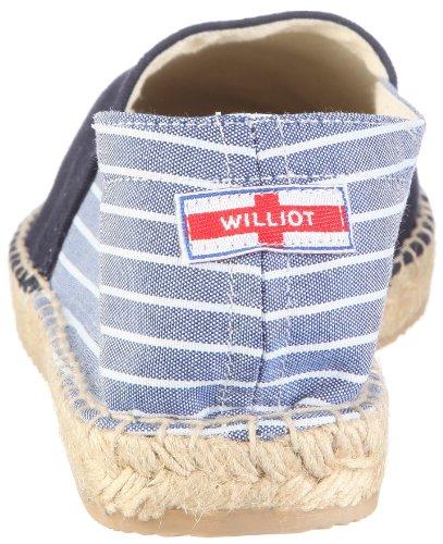 Williot CAMBRIDGE CAMBRIDGE 095 Herren Slipper Blau/Navy Blue/Blue-White Stripes