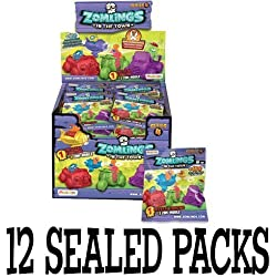 Zomlings Series 4 Zom-Mobile 12 packets by Zomlings