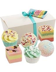 BRUBAKER Cosmetics Boules de bain - 6 Pièces - Coffret cadeau 'Sweets for my Sweet' - Vegan