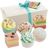Set da 6 pezzi BRUBAKER Cosmetics bomba da bagno 'Sweets For My Sweet' fatti a mano