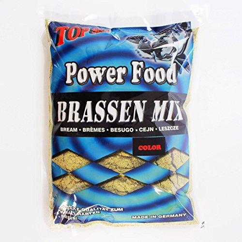 Top SecretPower Food Grundfutter Brassen Mix 1Kg