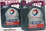 ** GRAN OFERTA * 2X Aceite de motor TOTAL QUARTZ INEO ECS 5W30 10 litros (2x5 lts)