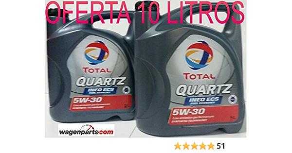 Total Quartz Ineo Ecs 5w30 Motoröl 10 L 2 X 5 L Auto