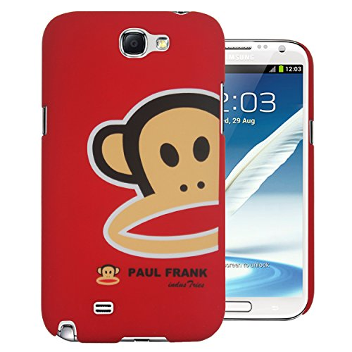 Heartly Cartoon Printed Design High Quality Hard Bumper Back Case Cover For Samsung Galaxy Note 2 N7100 - Minnie Mouse Red