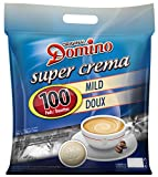 DOMINO CAFE PADS / DOSETTES DOUX 100 PIECES