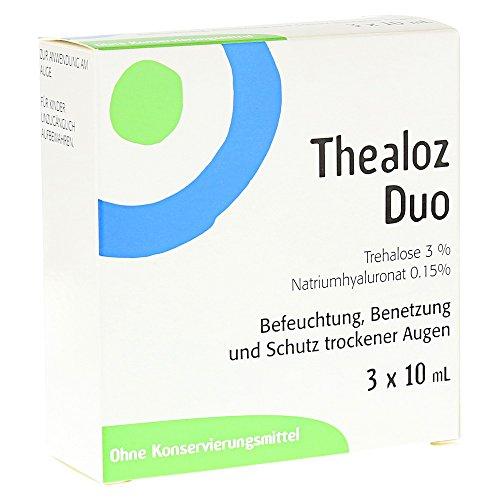 Thealoz Duo Augentropfen 3X10 ml