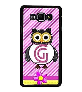 PrintVisa Decorative G High Gloss Designer Back Case Cover for Samsung Galaxy A8 (2015) :: Samsung Galaxy A8 Duos :: Samsung Galaxy A8 A800F A800Y