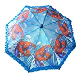#9: NPRC Stylish Cartoon Character Printed Protection Folding Waterproof Umbrella For Kids