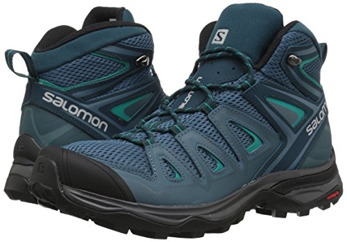 X Ultra Mid 3 Aero W - Chaussures randonnée femme Mallard Blue / Reflecting Pond / Tropical Green