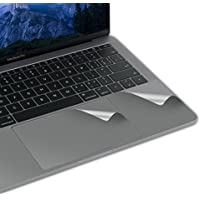 LENTION Palm Rest Cover Skin with Trackpad Protector for MacBook Pro (13-inch, 2016 2017 2018, 2/4 Thunderbolt 3 ports), Protective Vinyl Decal Sticker (Space Gray)