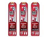 Colgate Oral care Brosse à Dents Max White + Stylo Blancheur Platinum Souple - Lot de 3