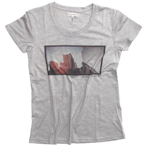 Billabong Damen Printshirt Grau