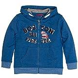 SALT AND PEPPER Jungen Jacke Jacket Rescue Uni Kapuze Blau (Blue 434), 104 (Herstellergröße: 104/110)