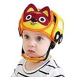 Protector de casco de seguridad para bebé, anticolisión para niños, ajustable, protección multicolor, para caminar, rastrar, cangrejos, niños A: Yellow 8pcs Popsicle Protection Cover