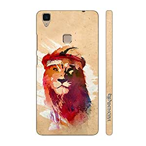 Enthopia Designer Hardshell Case Rapper Simba Back Cover for Vivo V3