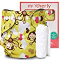 Motherly Reusable Baby Diaper with Insert Nappy Washable…