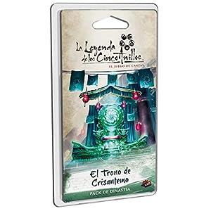 Fantasy Flight Games-La Leyenda de los Cinco Anillos: El Trono de Crisantemo-Español, Color (Dungeons y Dados FFL5C05)
