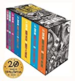 Harry Potter Complete Paperback Boxed Set: Contains: Philosopher's Stone / Chamber of Secrets / Prisoner of Azkaban / Goblet of Fire / Order of the ... / Deathly Hollows (Harry Potter Adult Cover)
