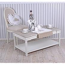 Wohnzimmertisch Landhausstil Weiss Tisch Couchtisch Palazzo Exclusive