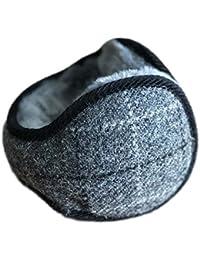 fnemo Men Fashion Winter Foldable Solid Thicken Ear Warmer Earmuffs Earmuffs