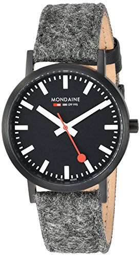 Mondaine Unisex-Adult Analog Swiss-Quartz Watch with Leather Strap A660.30314.64SBH