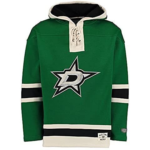 Old Time Hockey Dallas Stars Lacer Jersey Sweatshirt à capuche