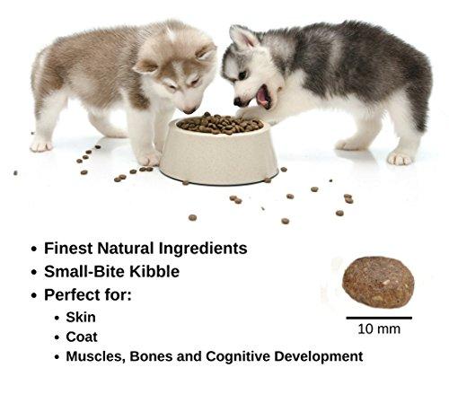 Vonziu Elite Premium Hundefutter / Welpenfutter – Hochenergetische Tiernahrung – Für kleine & große Hunderassen – Hypoallergen – Reich an Fischöl / Vitaminen / Mineralien – 100% Bio-Zutaten - 2