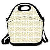 Neoprene Lunch Tote - Pineapple Insulated Waterproof Reusable Lunch Bags Boxes For Men