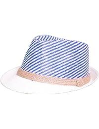 Chapeau de paille panama Fedora Trilby chapeau de chapeau Gangster avec ruban en tissu