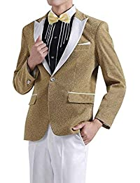 Giacche da Uomo Tuxedo Prom Party Moda Uomo Glamorous Suit Classiche Jacket  Blazer Wedding Blazer Party 43478ce6c6b