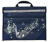 Musicwear - Pentagramma Borsa - Navy Blue