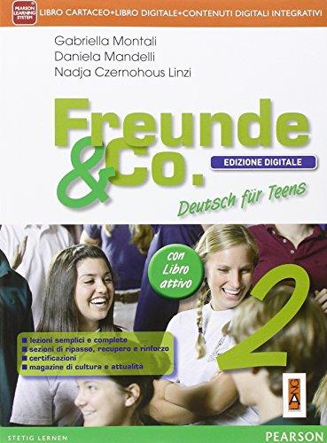 Freunde & co. Con fascicoloLIM. Per la Scuola media. Con CD Audio. Con e-book. Con espansione online. Con libro: 2