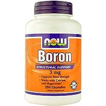 Now Foods Boron, 250 Caps 3 mg