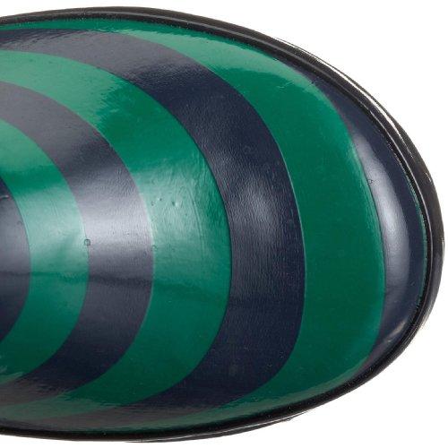 Playshoes Streifen 188637, Bottes mixte enfant Vert
